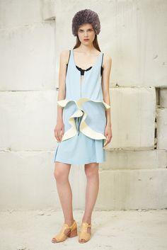 Balenciaga Resort S/S 2013.  Model - Caroline Brasch Nielsen.