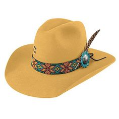 Charlie 1 Horse Women s Yellow Gold Digger 5X Cowgirl Hat Yellow 7 3 8 c40917f0c796