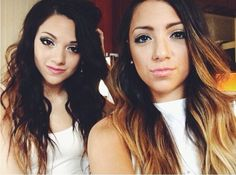 Niki and Gabi. I love these Youtubers and they have recently reached over a million subscribers! Go girls xxx