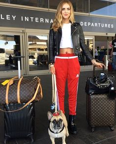 Chiara Ferragni's Casual-Chic Airport Style Is Everything