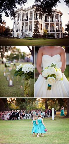 southern plantation wedding.