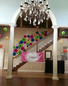 Philanthropy Day Decoration at @UA Gamma Phi Beta #BuildingStrongGirls