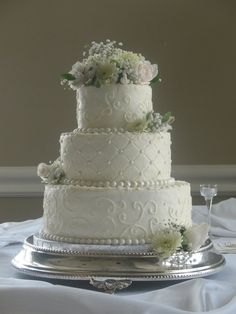 Gorgeous wedding cake - Cakes by MaryAnn trux