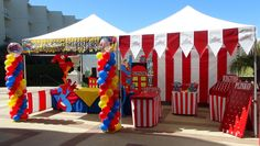 how to make a carnival booth | KarilynMonroe2