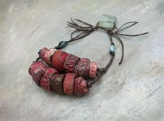 fading berries bead collection by greybirdstudio on Etsy