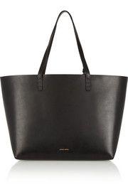 Black beauty - Mansur GavrielLarge leather tote