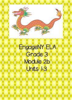Engage NY ELA, Grade 3, Module 2b, \