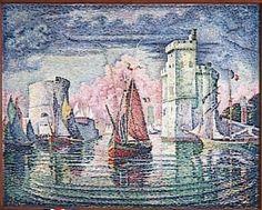 Entrée du port de la Rochelle - Paul Signac, 1921 https://www.artexperiencenyc.com/social_login/?utm_source=pinterest_medium=pins_content=pinterest_pins_campaign=pinterest_initial