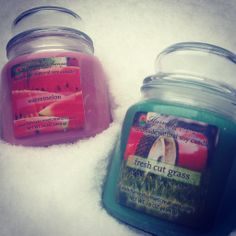 We're dreaming of the smells of summer! Watermelon and Fresh Cut Grass, yes!