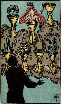 Seven of Cups - SW version