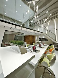 Unique Office Interior | Designed by Yan Yanming
