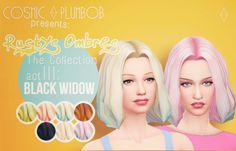 CosmicPlumbob : Rusty's Ombres The Collection - Act III: Black Widow.