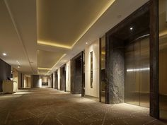 The Royal Garden HK Lift Lobby