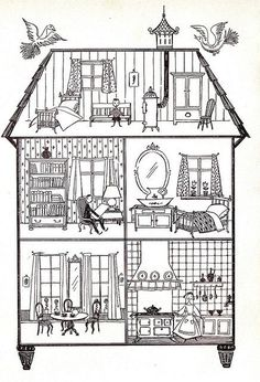 Tilly's House by Faith Jaques - cute story about a doll who works too hard in the dollhouse and moves out. Description from pinterest.com. I searched for this on bing.com/images