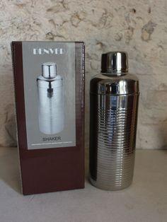 Shaker cocktail 3 pezzi acciaio Denner Idea Regalo Originale aperitivo kit