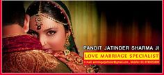 Love marriage specialist Pt Jatinder Sharma ji is Famous astrologer for vashikaran he is specialist for solve all the problems. http://www.astrologerfamous.com/