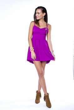 LOVE! Rich Port Mini Dress