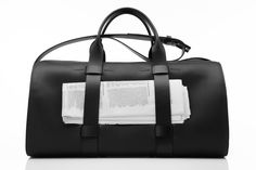 Troubadour Weekender - Black  London-based luxury men's accessories brand specialising in superior handcrafted leather goods for men. Functional Design. Modern Aesthetic. Incredible Craftsmanship. Designed For Life.   http://www.troubadourgoods.com  #mens #fashion #style