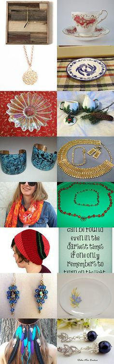Christmas gifts for him and her!  Shopping with TeamVintage by Kola Blue Rose on Etsy--Pinned with TreasuryPin.com