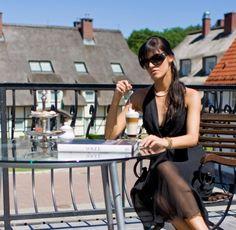 Terrace at Dwór Oliwski Hotel # Gdansk # Poland