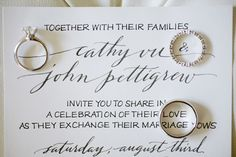 Anne Robin Calligraphy via Oh So Beautiful Paper