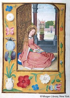 Book of Hours, MS M.399 fol.334v - Images from Medieval and Renaissance Manuscripts - The Morgan Library & Museum