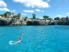Snorkeling in Negril, Jamaica