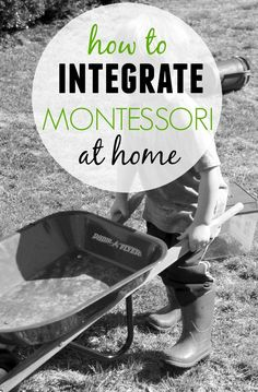 Montessori at Home - Where Do I Start?