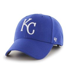Kansas City Royals MVP Home 47 Brand Adjustable Hat - Great Prices And Fast Shipping at Detroit Game Gear Hats For Sale, Hats For Men, Kansas City Royals Hat, Detroit Game, Mlb Merchandise, Team Gear, Mlb Teams, Blue, Nfl Caps