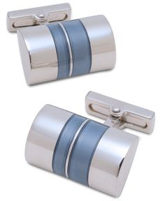 Kenneth Cole New York Cufflinks, Half Barrel Cufflinks