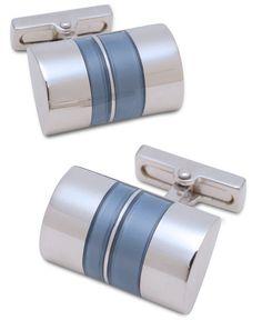 Kenneth Cole New York Cufflinks, Half Barrel Cufflinks