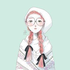 Little Oil Art — freckle
