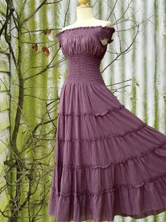 Hey, I found this really awesome Etsy listing at https://www.etsy.com/listing/121196239/lavender-purple-maxi-dress-long-cotton