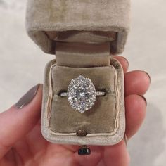 Diamond Engagement Rings Moissanite Engagement Ring with Canadian Diamond Halo and Pavé Band. By Kristin Coffin Jewelry. Wedding Rings Vintage, Diamond Wedding Rings, Bridal Rings, Vintage Engagement Rings, Halo Diamond, Diamond Rings, Solitaire Rings, Halo Rings, Wedding Bands