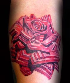 No Responses To Geometric Shape Heart Tattoo By Rafa De Kanvis