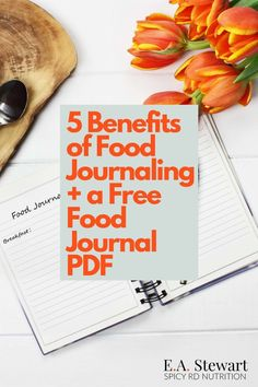 Keeping a food journal is a great way to help reach long term health goals, to ensure you are eating a balanced diet, to make peace with food, or to identify intolerances. Learn more about the benefits of food journaling and download a free printable food diary PDF at EA Stewart, The Spicy RD Nutrition And Dietetics, Holistic Nutrition, Nutrition Tips, Food Tracking, Diet Journal, Health Goals, Health Tips, Food Intolerance, Fodmap Diet