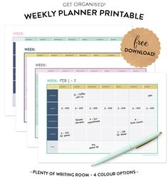 Weekly Planner Freeb