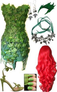 DIY Halloween Inspiraiton Ideas // Poison Ivy
