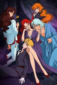 Arte Sailor Moon, Sailor Moon Fan Art, Sailor Moon Character, Sailor Moon Manga, Sailor Uranus, Sailor Mars, Sailor Moon Crystal, Sailor Scouts, Sailor Moon Villians