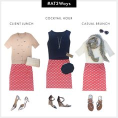 #AT3Ways Modern Print Mini Skirt