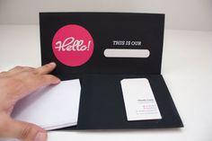 Pastas de apresentação | Des1gn ON - Blog de Design e Inspiração.