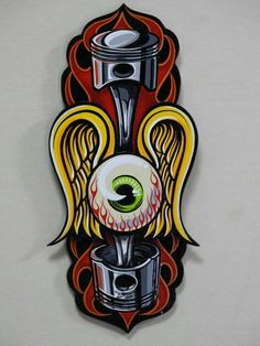 Boo pinstriping Airbrush Art, Hot Rod Tattoo, Rockabilly Art, Pinstripe Art, Pinstriping Designs, Garage Art, Arte Horror, Motorcycle Art, Lowbrow Art