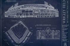 Yankee stadium blueprints baseball basement pinterest ballpark blueprint poster contest malvernweather Gallery
