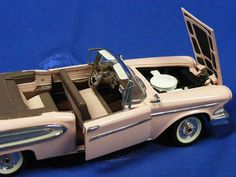 Edsel station Convertible 1958 Franklin Mint 1/24 scale |  TFMB11TL12