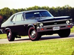 '69 Nova SS - dig them redline tires...