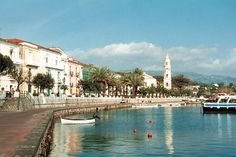 ONE OF ITALY'S LAST UNSPOILED FISHING VILLAGES  -  The Cilento village of Scario  (the birthplace of Slow Dreams) is pristine and authentic - still full of colourful fishing boats and surrounded by the soaring mountains of the Cilento