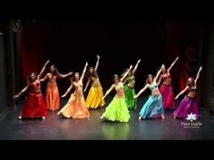 Drum Solo Belly Dance - Fleur Estelle Dance Company - YouTube