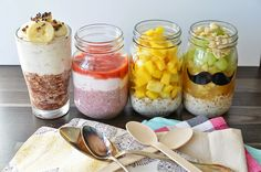 Sarahs Krisenherd: [Healthy Breakfast] alle Overnight Oats Rezepte auf einen Blick plus Gewinnspiel!!!