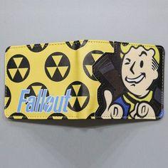 New Game Designer Cartoon Wallets Fallout 4 Vault Boy Wallet Small Slim Dollar Money Bag For Children Girls Cute Anime Wallet