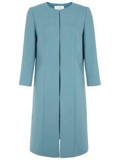 Hobbs Etoile Coat, Kingfisher Blue